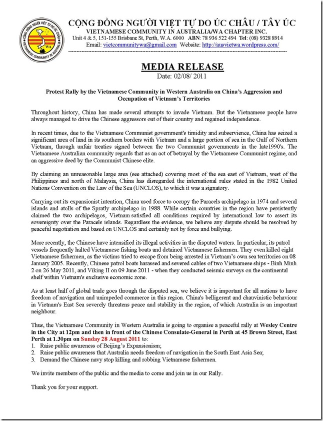 Media Release Protest Against China _Final 020811__Page_1
